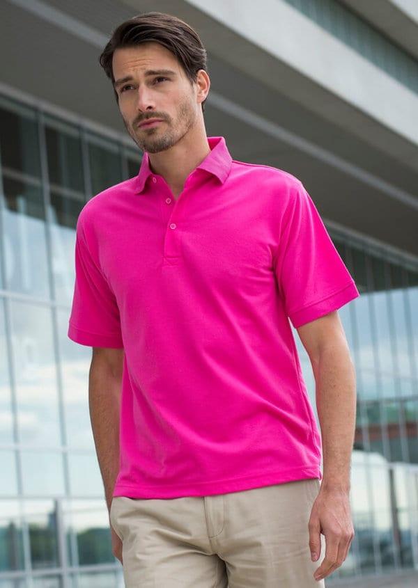 HB400 henbury poly/cotton polo shirt