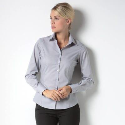 K743F Business blouse long sleeved main image