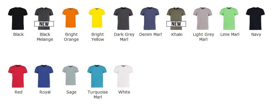 kk504 colours